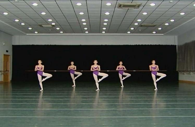 中国舞基本功训练图片
